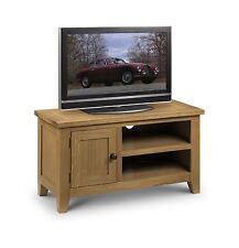 Julian Bowen Astoria Solid American Oak TV Unit Stand Cabinet Cupboard