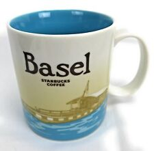 Starbucks Basel Switzerland 2008 Edition City Icon Mug 16 oz