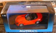 DODGE VIPER SRT-10 2003 RED ROADSTER AUTOART # 51701 1/43 USA ROSSO ROUGE ROT