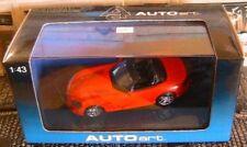 Dodge Viper Srt-10 2003 Rosso 1/43 Autoart Aa51701 Miniature