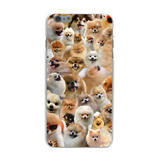 New Pomeranian Dog Puppy Pet Cute Gift Hard Cover Case For iPhone Huawei 7