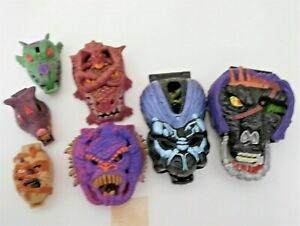 BUNDLE OF MIGHTY MAX PLAY SETS - 7 X CHARACTERS - GREAT 90'S COLLECTABLES.