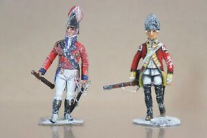 BRITAINS STADDEN TRADITION NAPOLEONIC WARS WELLINGTON & FOOT SOLDIER nv