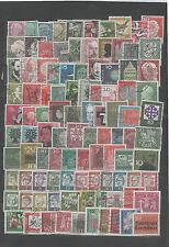 680 Briefmarken Sammlung Bundespost BUND BRD Heuss Blumen Freimarken gestempelt