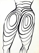 American Artist Alexander Calder, Fleches-Untitled 7, 1968, Lithograph