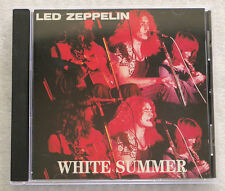CD Led Zeppelin White Summer (c) Swingin' Pig 1989  MINT