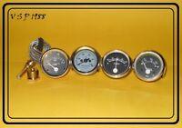 DAVID BROWN Tractor Gauge Set Fuel,Temperature,Oil Pressure,Ammeter Mechanical