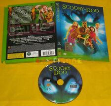 SCOOBY-DOO (il film) di Raja Gosnell Dvd Snapper Wraner »»»»» USATO