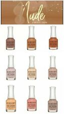 "Kiara Sky Nail Polish Lacquer ""In the Nude"" FULL Collection 9 pcs Set New"