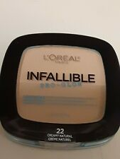 "L'Oreal Infallible ""Pro Glow"" Pressed Powder. Ivory, Natural and Beige. .31 oz"