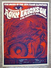 Mishka Westell Roky Erickson 13Th Floor Elevators 2016 European Tour Poster Ap