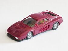 Herpa Ferrari Testarossa Adventskalender 1996 Werbemodell high tech VIOLETT