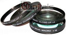 Close-Up Macro Filter Set For Canon EOS Digital Rebel XTi T1i T2i T3 T3i T4i New