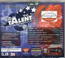 TALENT VOL.1 CD GIACK Giacomo CELENTANO nuovo SIGILLATO PROMO Radio 2010