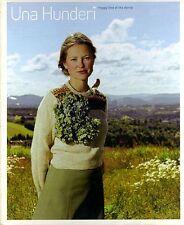 Una Hunderi Norwegian Photo Book Signed