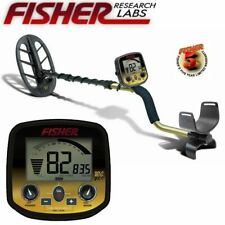 "Fisher Gold Bug DP Metal Detector with 11"" Elliptical Search Coil"