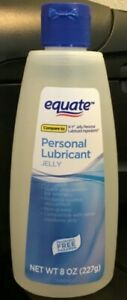 Equate Personal Lubricant Jelly 8 oz - Fragrance Free