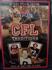 CFL Traditions - Ottawa Renegades Special edition New DVD GREY CUP