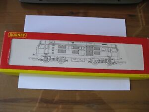 HORNBY R2238A CLASS 29 D6129 Bo Bo BR BLUE BOXED MADE CHINA SEE PHOTOS