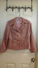 GAP, Women's size 8, Twill Jacket, Multi color, Lined, Pockets,  EUC
