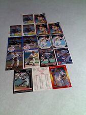 Steve Olin:  Lot of 125+ cards.....32 DIFFERENT / Baseball