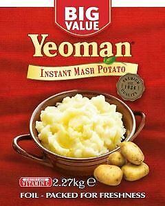 Yeoman Instant Mashed Potato 2.27kg