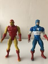Marvel/Dc Action Figures Iron Man And Superman