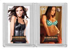 Emily Ratajkowski rare MH Lancero #'d 2/3 Tobacco card no. 196