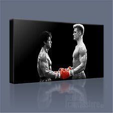 ROCKY BALBOA vs IVAN DRAGO AWESOME ICONIC BOXING CANVAS ART PRINT Art Williams