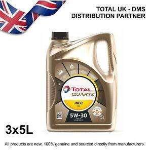 Total Quartz Ineo MC3 5w-30 Engine Oil (3x5ltr)