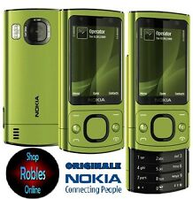 Nokia 6700s SLIDE Green (Senza SIM-lock) 3g 4 nastro 5mp Carl Zeiss mp3 radio bene