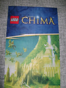 LEGO LEGENDS OF CHIMA FABRIC STORE DISPLAY BANNER / FLAG