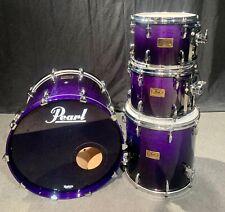 PEARL MMX Master Custom Series Drum Kit 4pc, Midnight Fade - FREE SHIP or P/U