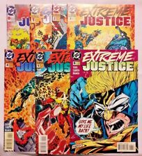 B244 Extreme Justice #'s 0,1,2,3,4,5 & 6 DC Lot of 7 1995 Vado Campos Branch NM