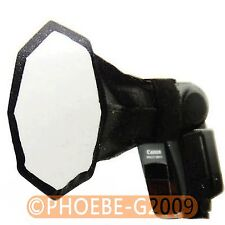 Speedlite Octagonal Softbox Flash Diffuser 15*15CM for Canon Nikon Pentax Sony