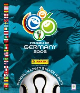 PANINI WORLD CUP 2006 PICK YOUR STICKER FROM LIST NUMBERS 5-268