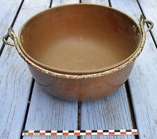 Marmite en cuivre de Villedieu, ancienne,  signature L.L. (voir photos),