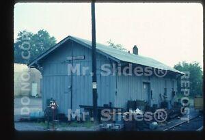 Original Slide B&O Baltimore & Ohio Shinnston WV Station In 1984