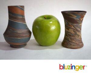Antique Mission Swirl Pottery NILOAK + BADLANDS DICKOTA  Arts & Crafts