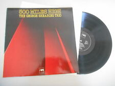 LP Jazz George Shearing Trio - 500 Miles High (9 Song) MPS BASF/Black Label