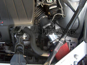 Black Red For 2004-2008 Pontiac Grand Prix 3.8L V6 Air Intake System Kit