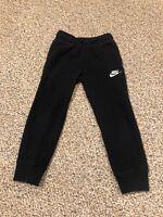 Boys Black Nike Athletic Sweatpants Size 5-6