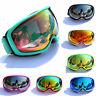 Ski Goggles Professional Snowboard Snowmobile Anti Fog UV Dual Lens Glasses Case