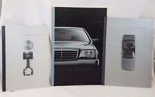 1992 Mercedes Benz S Class Showroom Sales Catalogs Tech Specs Paint Upholstery