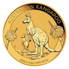Goldmünze Känguru 2020 15 Dollar Australien 1/10 oz in Stempelglanz