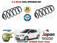 Für Toyota Auris 1.8 Hybrid 2010-2012 Neu 2x Hinten Links Rechts Schraubenfeder