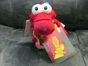 Vintage Disney Store Mulan Dragon MUSHU Bean Bag Plush Toy NWT