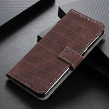 For Xiaomi Redmi Note 10 Pro Max Flip Leather Wallet Crocodile Card Case Cover