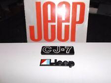 CJ7 emblem, CJ Laredo, CJ emblem, Jeep  emblem, AMC/Jeep emblem
