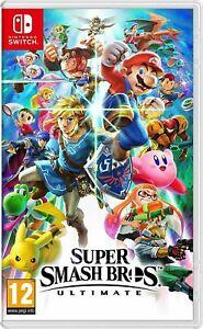 Super Smash Bros Ultimate (Nintendo Switch 2018) - Version Digitale - NO KEY